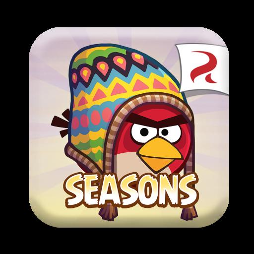 愤怒的小鸟季节版 for Mac(休闲益智游戏)