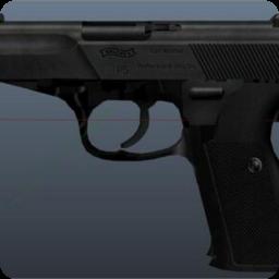 侠盗猎车5 德国瓦尔特P5式手枪MOD(用于警察与安全部队使用)