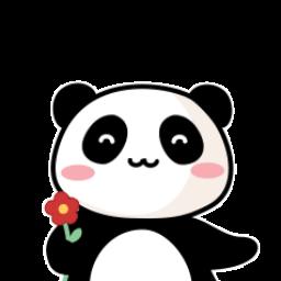 暖萌熊猫白小胖动态表情包图片 暖萌熊猫白小胖动态表情包 可爱熊猫gif表情素材包 高清版 东东软件园