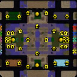 两方对战v1.0城邦版(简单好玩的对抗地图)